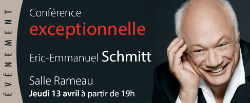 Conférence Eric-Emmanuel Schmitt