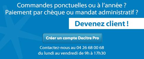 COMMANDES PONCTUELLES OU A L'ANNEE